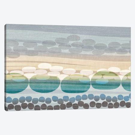 Pebble Beach Canvas Print #TAN144} by Tandi Venter Art Print