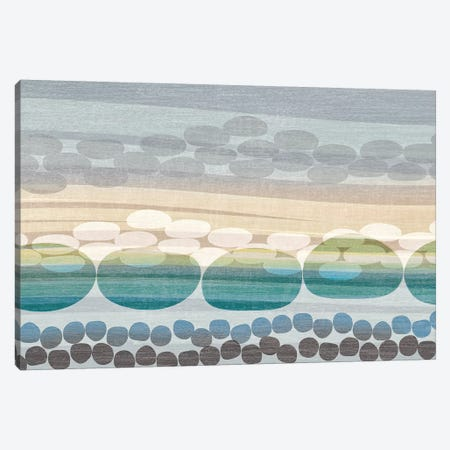 Pebble Beach Canvas Print #TAN144} by Tandi Venter Art Print