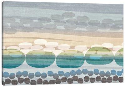 Pebble Beach Canvas Print #TAN144