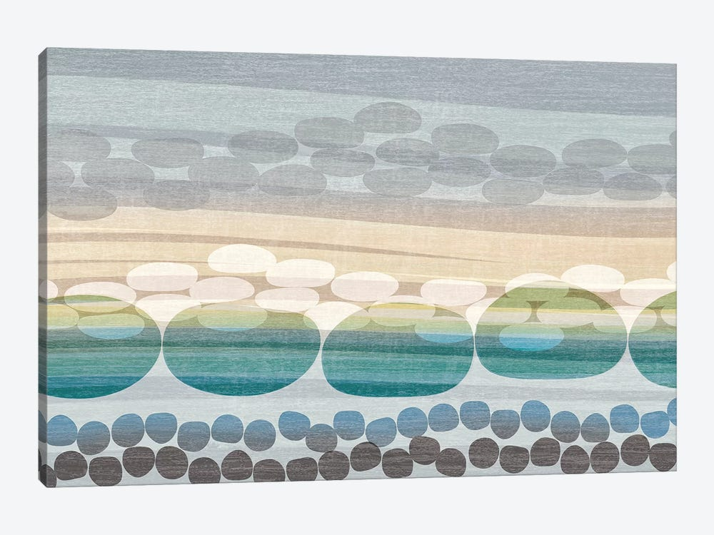 Pebble Beach by Tandi Venter 1-piece Art Print