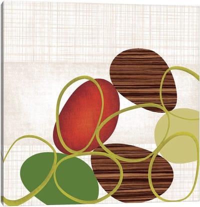 Pebbles 'N' Loops I Canvas Print #TAN145