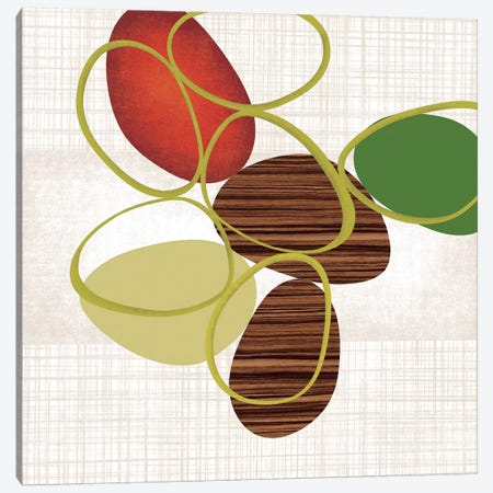 Pebbles 'N' Loops II Canvas Print #TAN146} by Tandi Venter Canvas Art Print