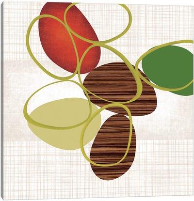 Pebbles 'N' Loops II Canvas Print #TAN146