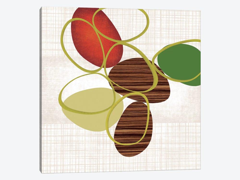 Pebbles 'N' Loops II by Tandi Venter 1-piece Art Print