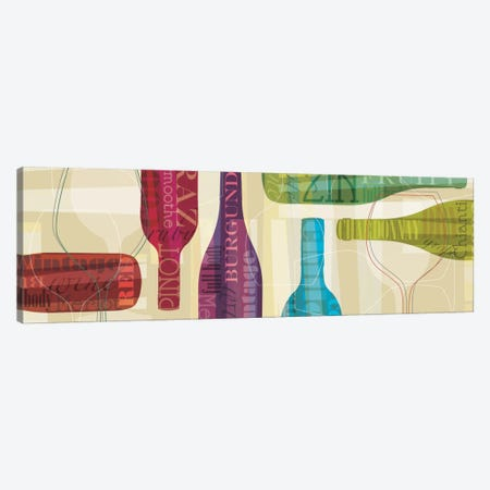All Bottled Up Canvas Print #TAN14} by Tandi Venter Canvas Wall Art