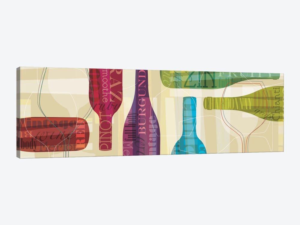 All Bottled Up by Tandi Venter 1-piece Canvas Art