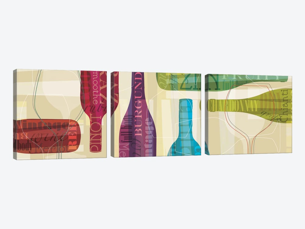 All Bottled Up by Tandi Venter 3-piece Canvas Art