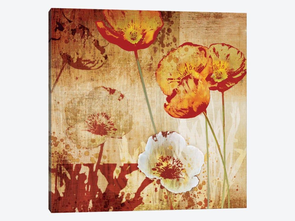 Poppy Heat I by Tandi Venter 1-piece Art Print