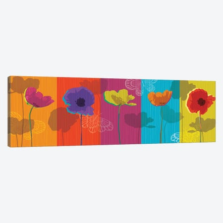 Poppylicious Canvas Print #TAN157} by Tandi Venter Canvas Art