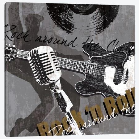 Rock & Roll Canvas Print #TAN158} by Tandi Venter Art Print