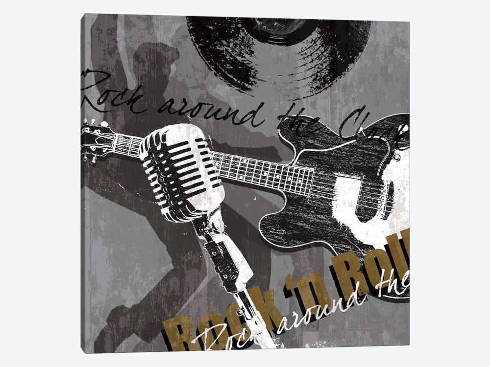 Rock & Roll by Tandi Venter 1-piece Canvas Artwork