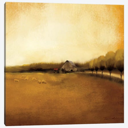 Rural Landscape I 3-Piece Canvas #TAN162} by Tandi Venter Canvas Wall Art
