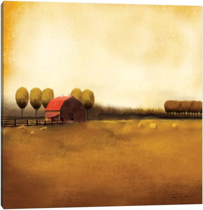 Rural Landscape II Canvas Art Print