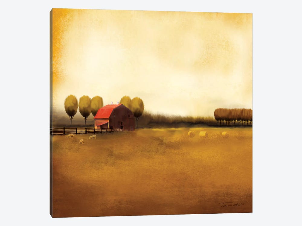 Rural Landscape II by Tandi Venter 1-piece Canvas Wall Art