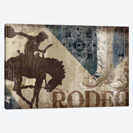 Saddle Up II 3-Piece Canvas #TAN164} by Tandi Venter Canvas Print