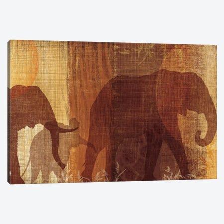 Safari Silhouette IV Canvas Print #TAN167} by Tandi Venter Canvas Print