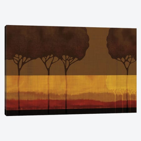Autumn Silhouettes I Canvas Print #TAN16} by Tandi Venter Canvas Wall Art