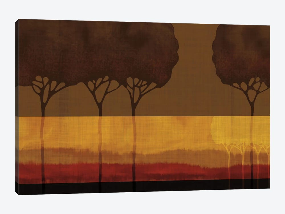 Autumn Silhouettes I by Tandi Venter 1-piece Canvas Wall Art