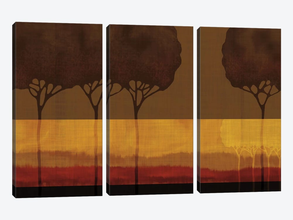 Autumn Silhouettes I by Tandi Venter 3-piece Canvas Wall Art