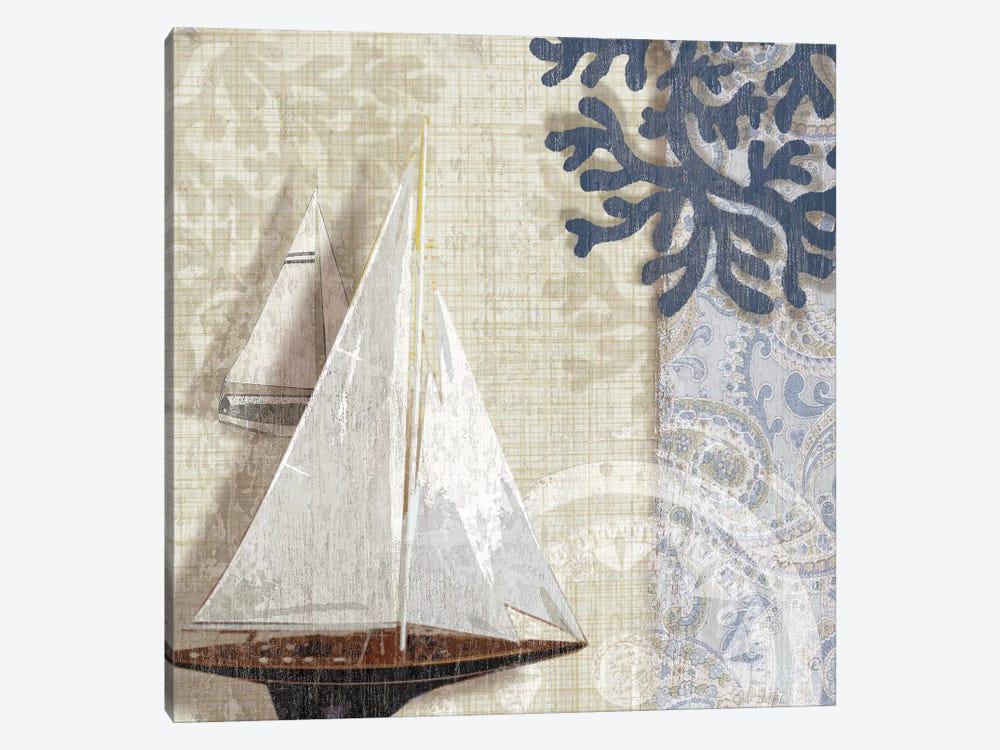 Sailing Adventure I by Tandi Venter 1-piece Canvas Artwork