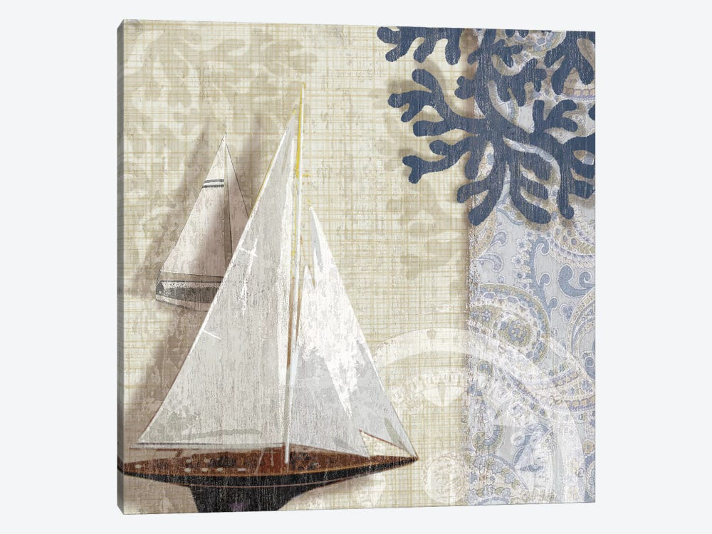 Sailing Adventure I by Tandi Venter 1-piece Canvas Artwork