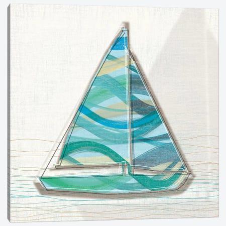 Smooth Sailing I Canvas Print #TAN190} by Tandi Venter Canvas Art Print