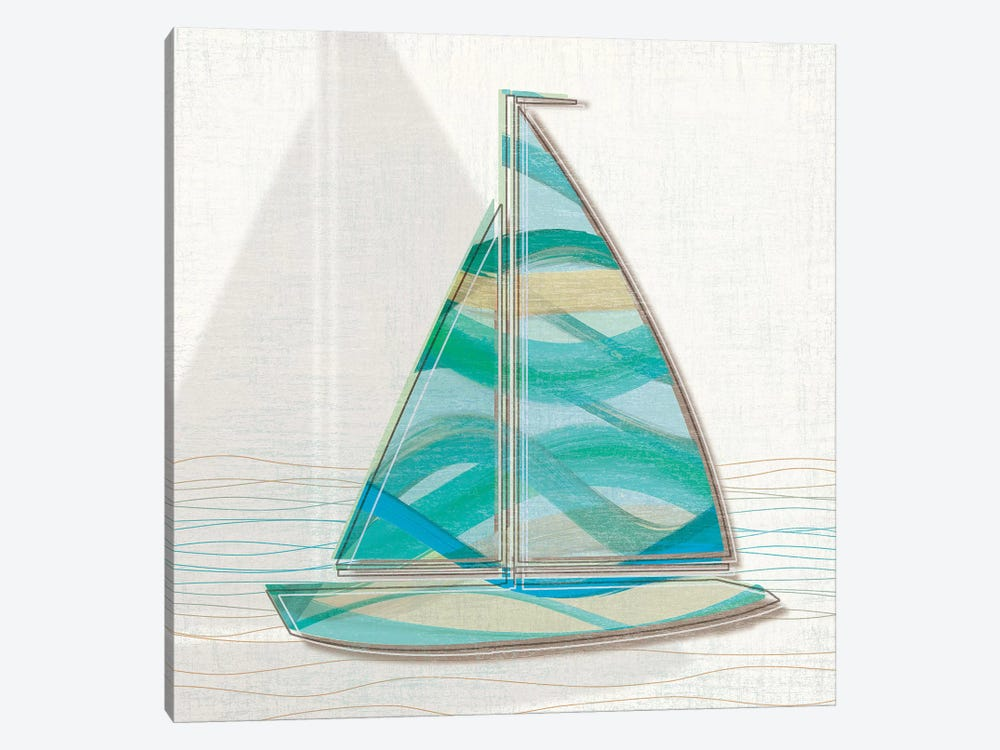 Smooth Sailing II by Tandi Venter 1-piece Canvas Art Print