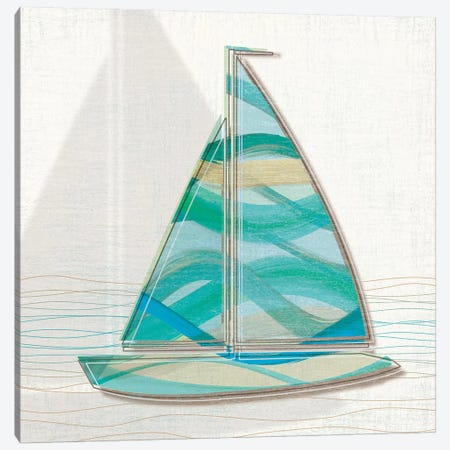 Smooth Sailing II Canvas Print #TAN191} by Tandi Venter Canvas Print