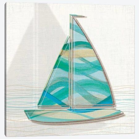 Smooth Sailing II Canvas Print #TAN191} by Tandi Venter Canvas Print