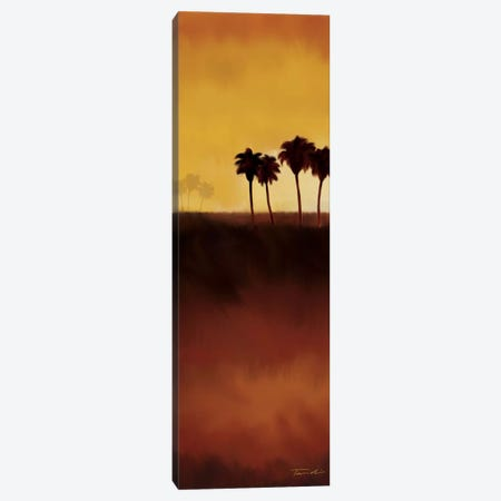 Sunset Palms II Canvas Print #TAN197} by Tandi Venter Canvas Art