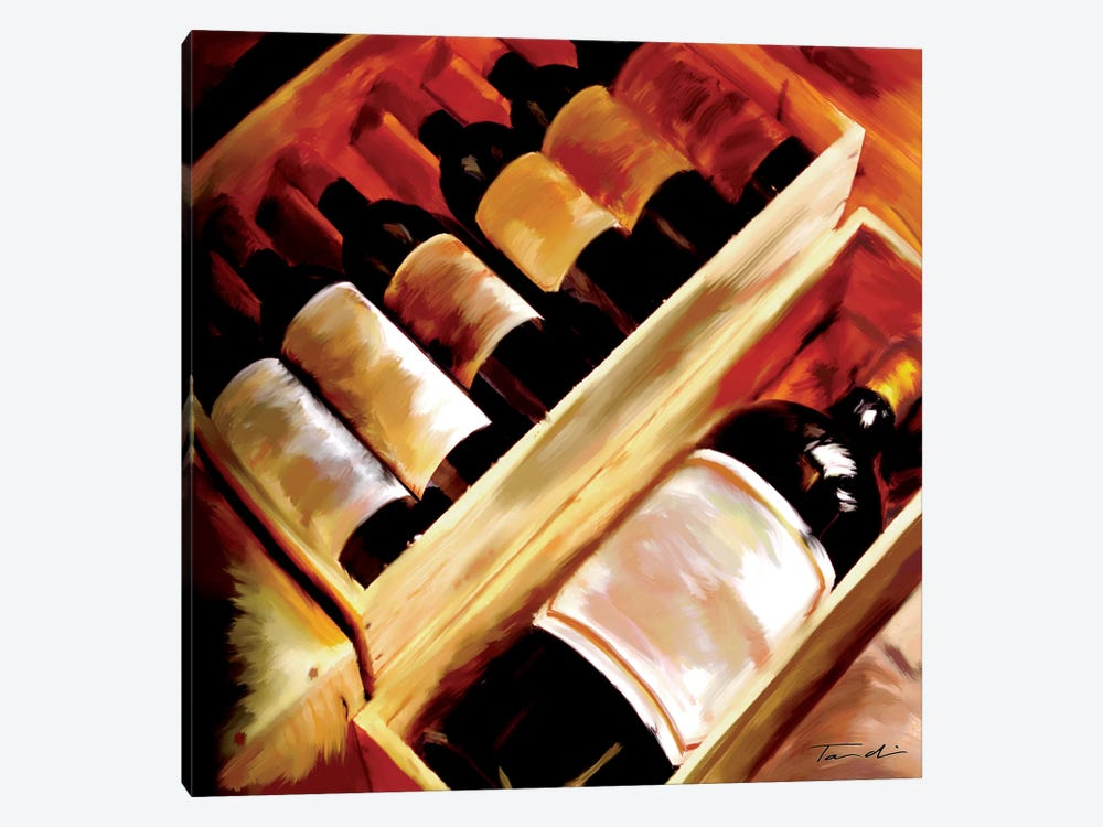 The Wine Collection I by Tandi Venter 1-piece Canvas Art Print