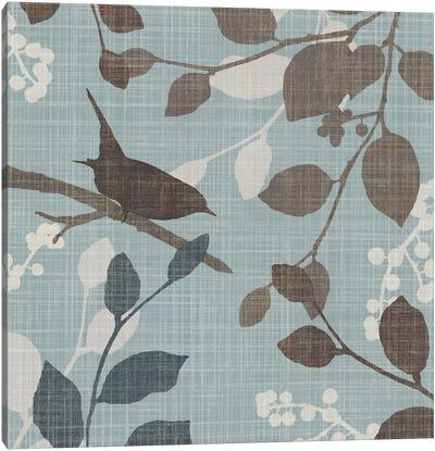 A Sparrow's Garden I Canvas Print #TAN1