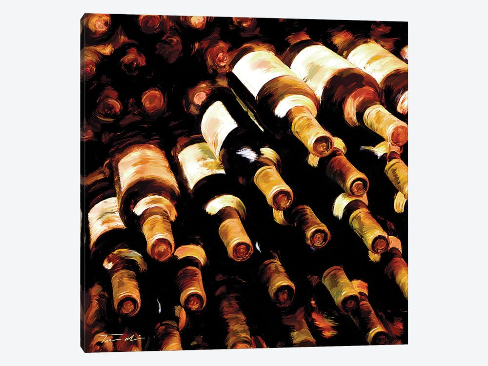 The Wine Collection II by Tandi Venter 1-piece Art Print