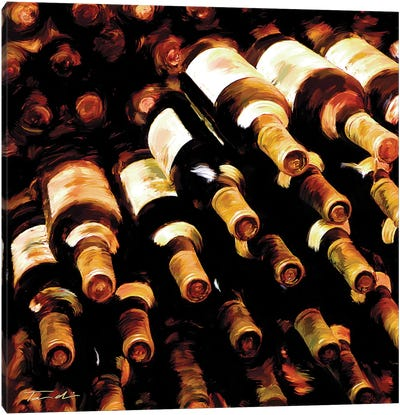 The Wine Collection II Canvas Art Print