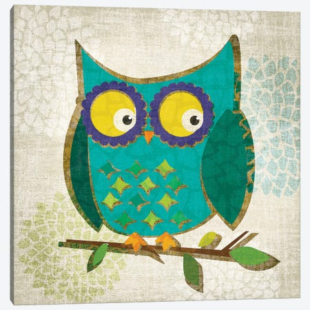 Who's Hoo I Canvas Print #TAN209} by Tandi Venter Canvas Art Print