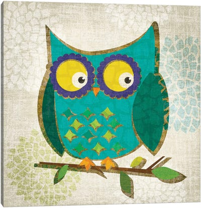 Who's Hoo I Canvas Art Print