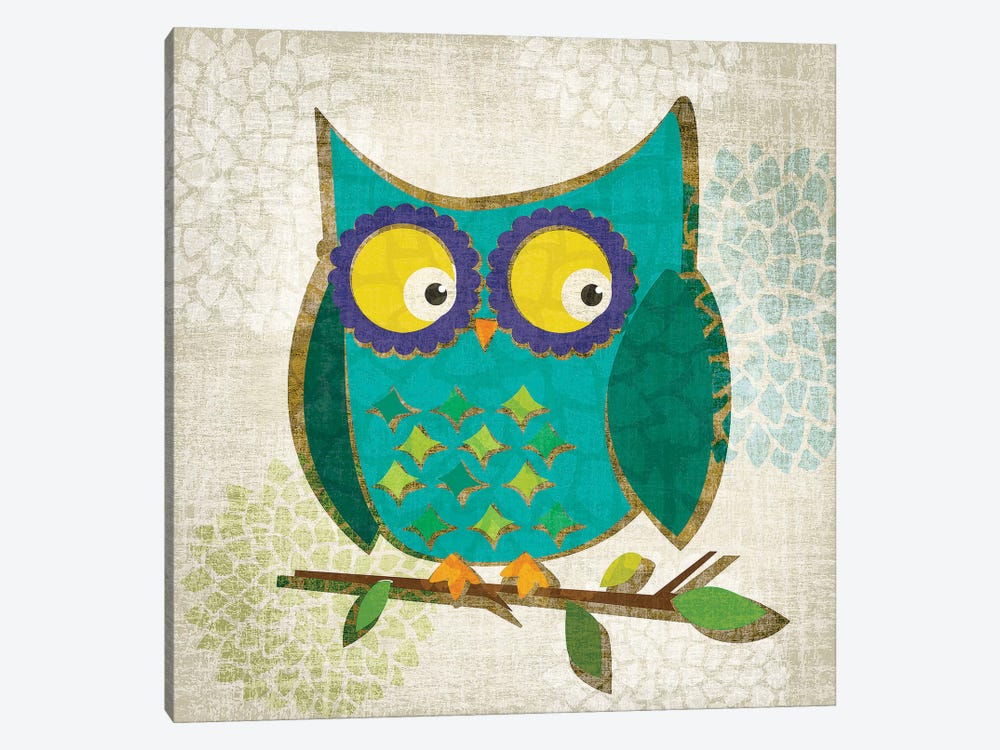 Who's Hoo I by Tandi Venter 1-piece Canvas Art
