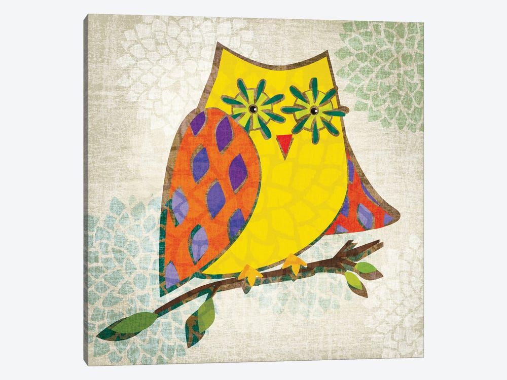 Who's Hoo II by Tandi Venter 1-piece Canvas Wall Art