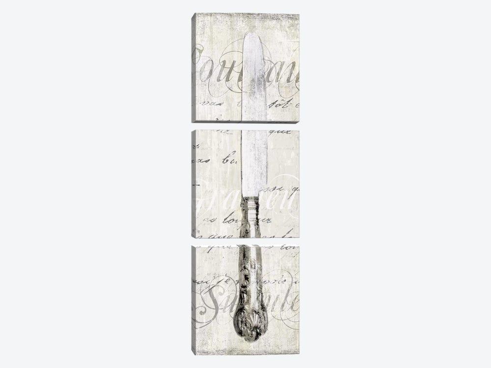 Couteau by Tandi Venter 3-piece Canvas Art Print