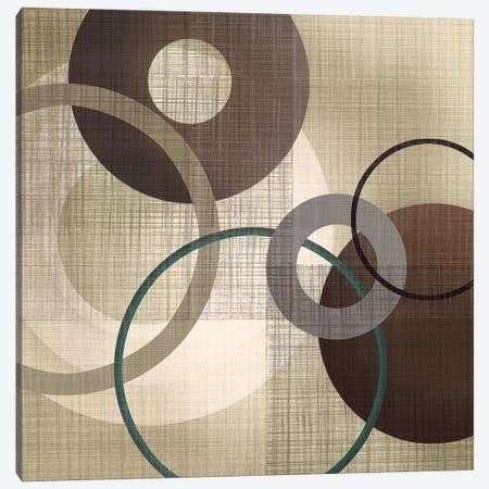 Hoops 'N' Loops I Canvas Print #TAN225} by Tandi Venter Canvas Wall Art