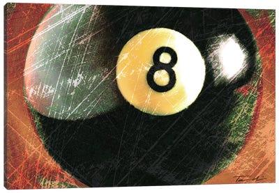 Behind The 8 Ball Canvas Print #TAN23