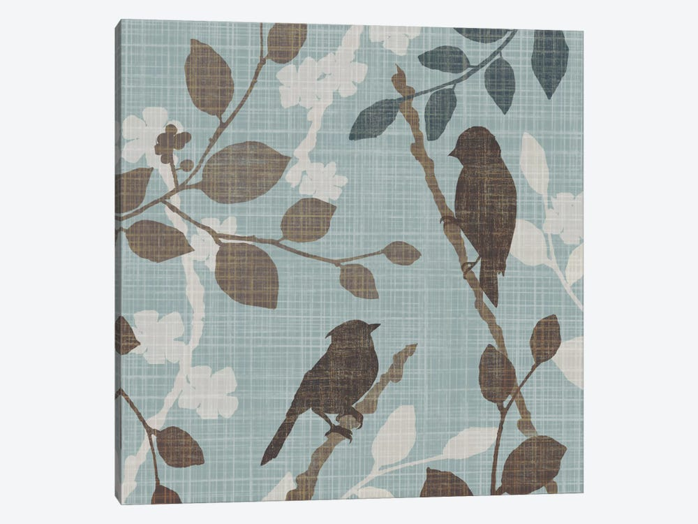 A Sparrow's Garden II by Tandi Venter 1-piece Canvas Artwork