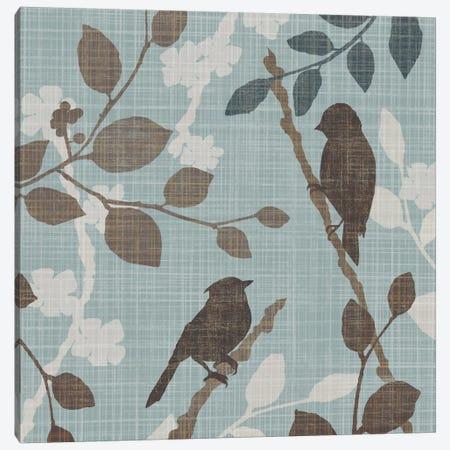 A Sparrow's Garden II Canvas Print #TAN2} by Tandi Venter Canvas Art