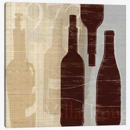Bordeaux I Canvas Print #TAN31} by Tandi Venter Canvas Print