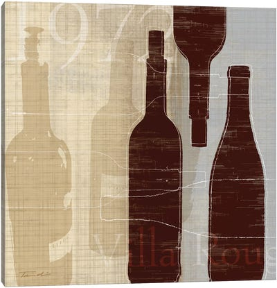 Bordeaux I Canvas Art Print