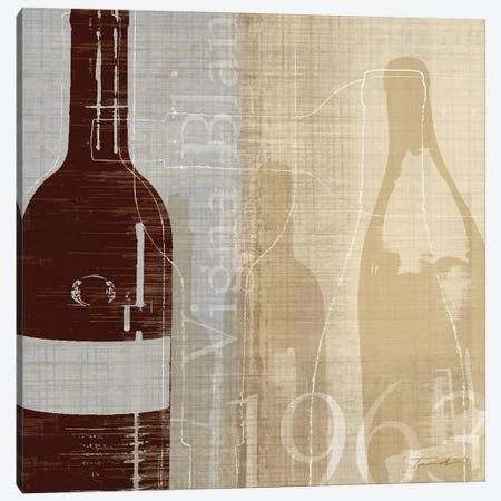 Bordeaux II Canvas Print #TAN32} by Tandi Venter Art Print
