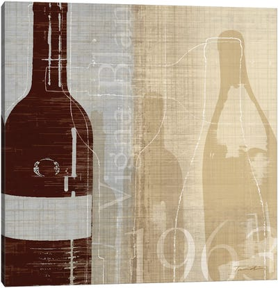 Bordeaux II Canvas Art Print