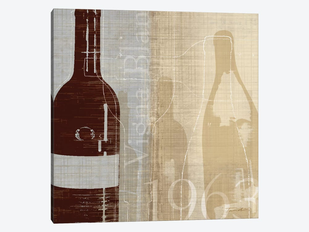 Bordeaux II by Tandi Venter 1-piece Canvas Artwork