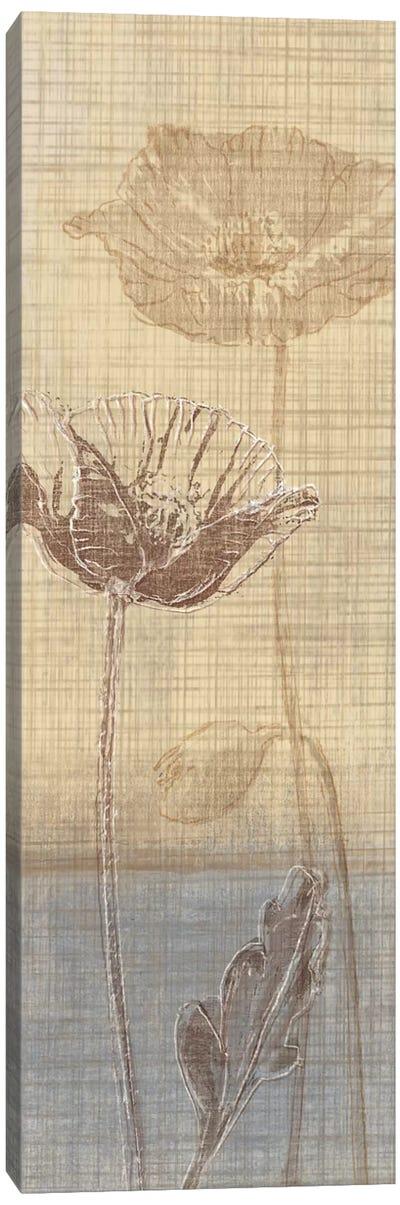 Botanical Sketchbook I Canvas Art Print