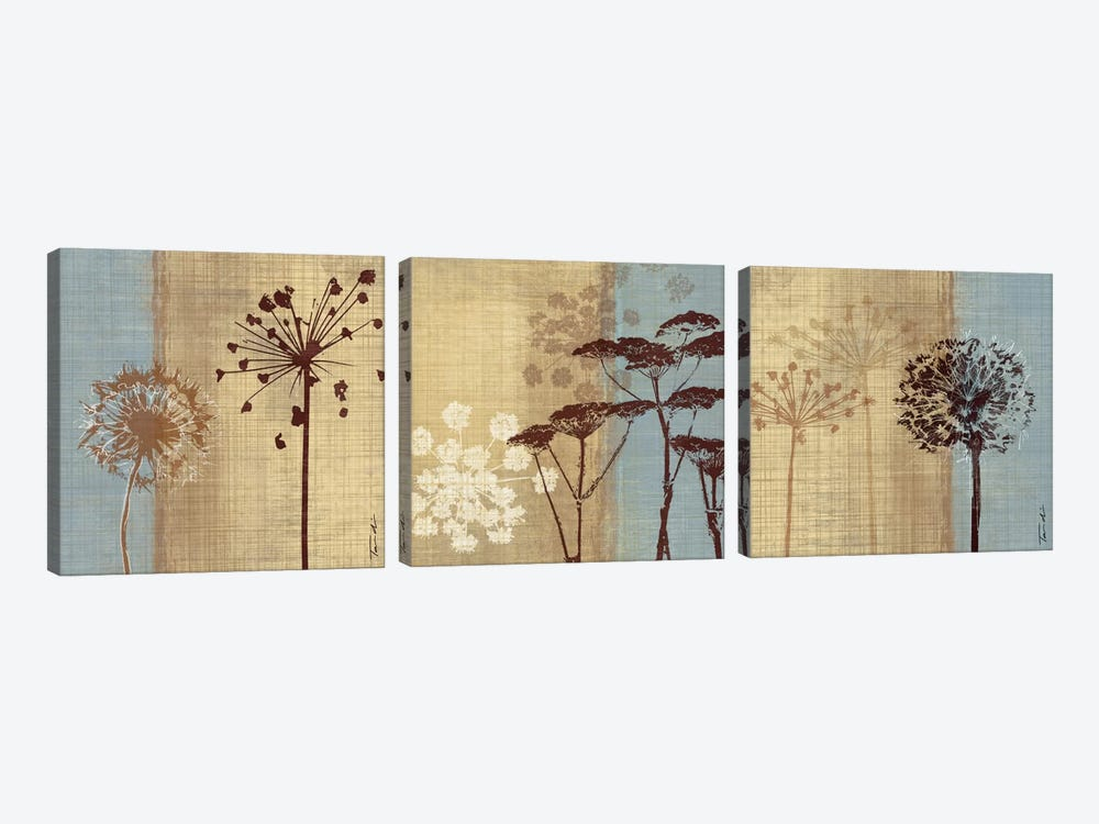 Silhouettes In The Breeze Triptych by Tandi Venter 3-piece Art Print
